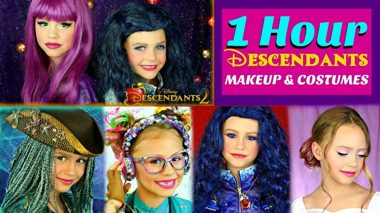 1 Hour Descendants Makeup and Costumes Compilation