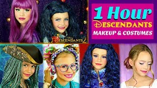 1 Hour Descendants Makeup and Costumes Compilation