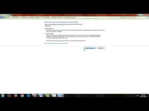 How To Make User Administrator Windows 7