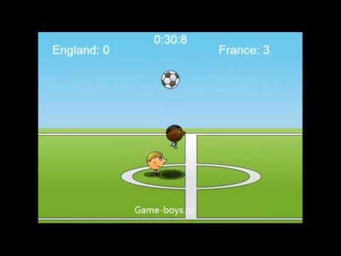 Видео игры футбол головами - 1 na 1