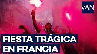 Muertos, saqueos y disturbios en Francia en la celebración del Mundial