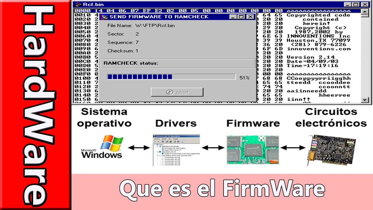 Qué es un driver? ¿qué es firmware? Dr pc barcelona.