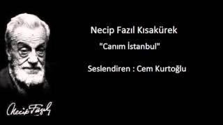 Necip Fazıl Kısakürek - Canım İstanbul