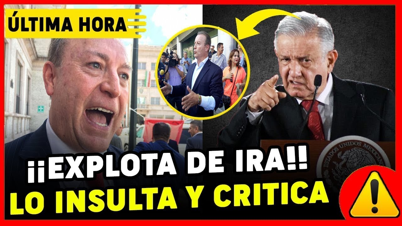 Gilberto Lozano INSULT4 SIN PIEDAD a AMLO ¡YA ESTA DESQUICIADO! en ENTREVISTA y queda en RIDICUL0