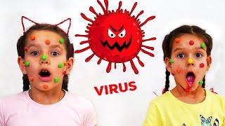 PIPONA. Лера и Вика против бактерий. Карантин