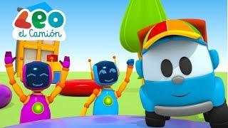 Leo el Pequeño Camión  - Videos educativos para niños - Formas y colores en español