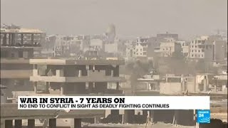 War in Syria: Seven years on