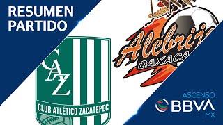 Resumen | A. Zacatepec 1 - 3 Alebrijes | Ascenso BBVA MX - Gran Final - Apertura 2019