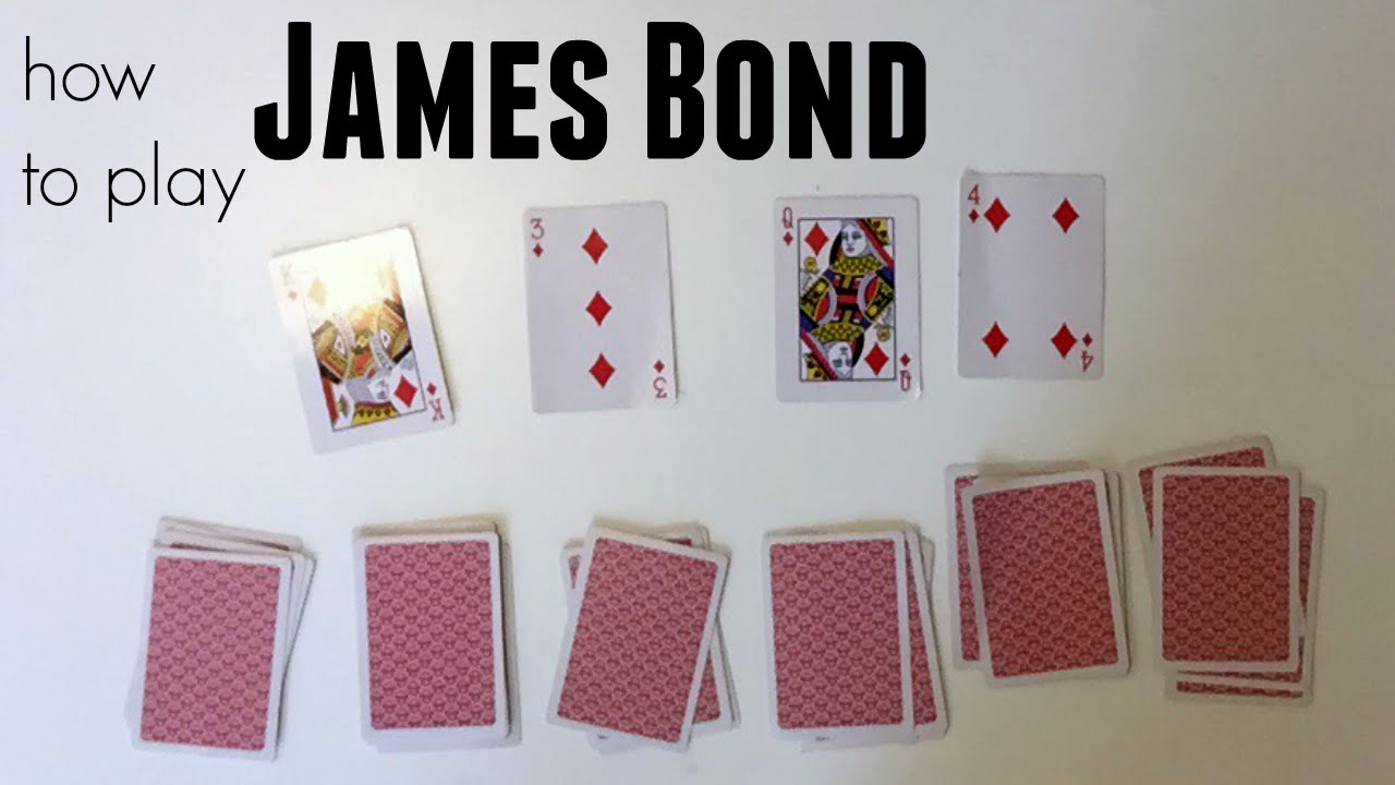 How To Play James Bond Card Game For Kids Teachmama