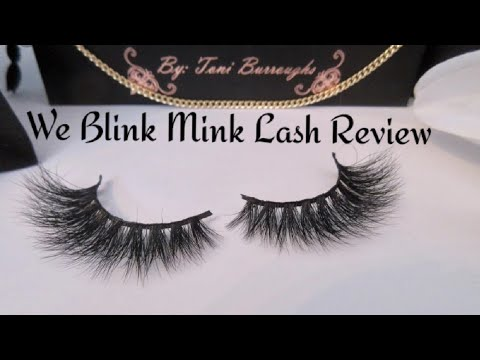 63dfe006d0a We Blink Mink Lash Review - YouTube