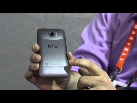 HTC Titan II with AT&T's 4G LTE Hands-On at CES 2012