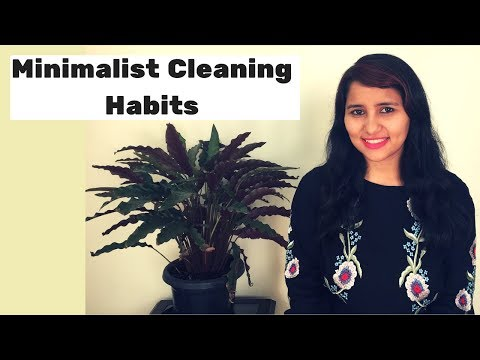 5  MINIMALIST CLEANING HABITS  | Free printable pdf checklist for a neat & tidy home