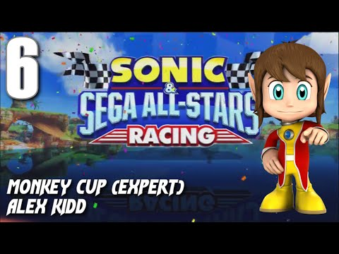 Sonic and Sega All-Stars Racing - Monkey Cup (Alex Kidd)
