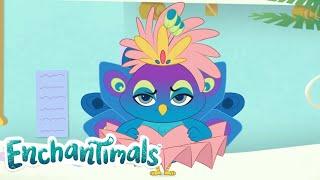 Enchantimals Россия Флэп модник Забавные истории ОБОБЩЕНИЕ мультфильмы для детей