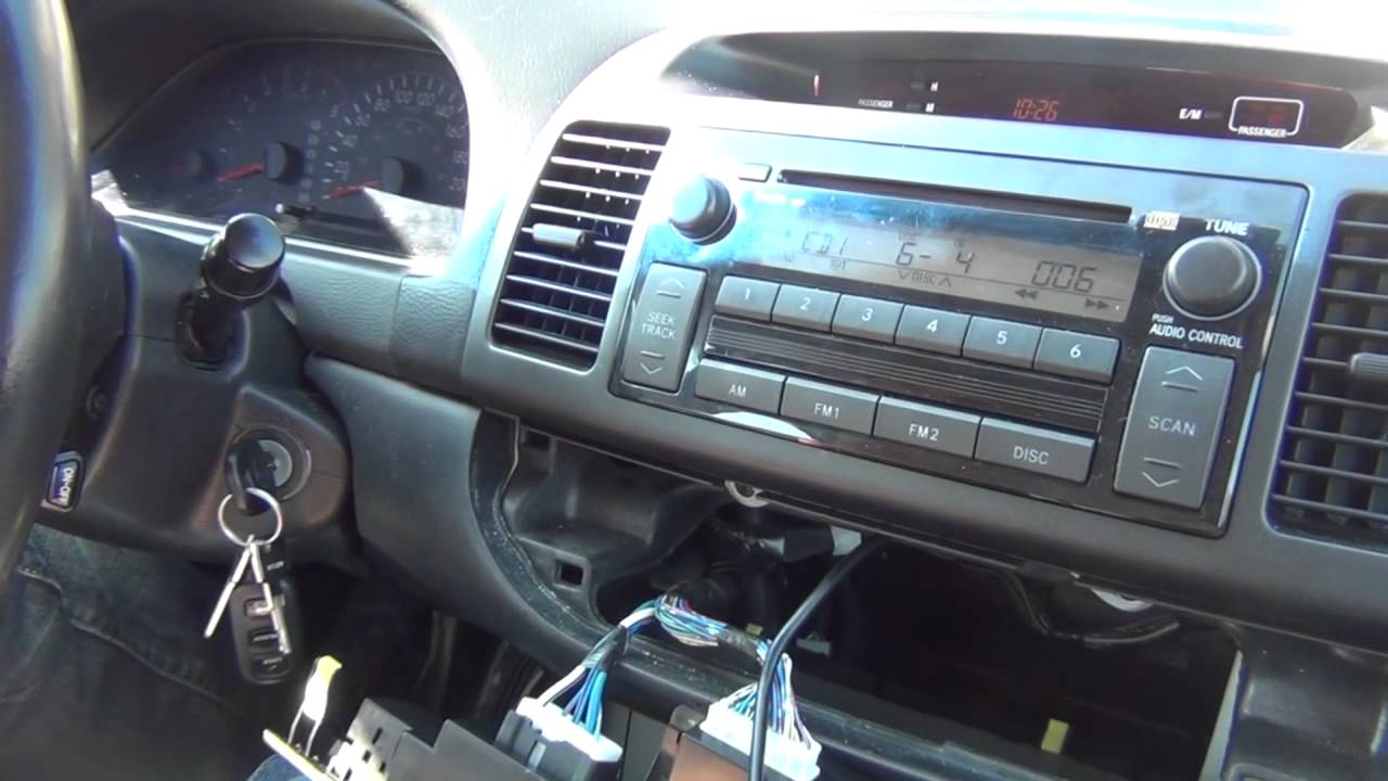 Gta Car Kits Toyota Camry 2002 2006 Install Of Iphone Ipod And 2003 Solara Wiring Diagram Aux Adapter For Factory Stereo Youtube