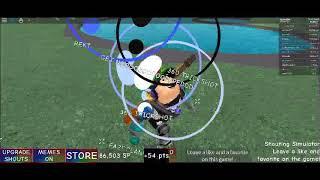 Roblox Shouting Simulator | Cancer e_E