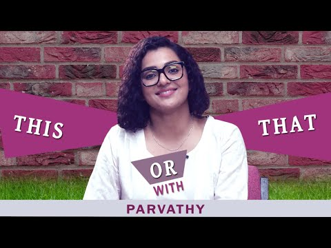 Fun choices revealed l This Or That segment with Parvathy l Mazhavil Manorama