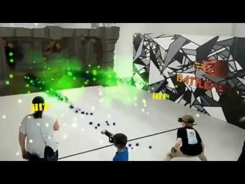 Dodge Your Way To Victory! Augmented Reality Battle Arena