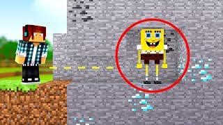 Minecraft: BOB ESPONJA SE ESCONDEU !! (ESCONDE - ESCONDE)