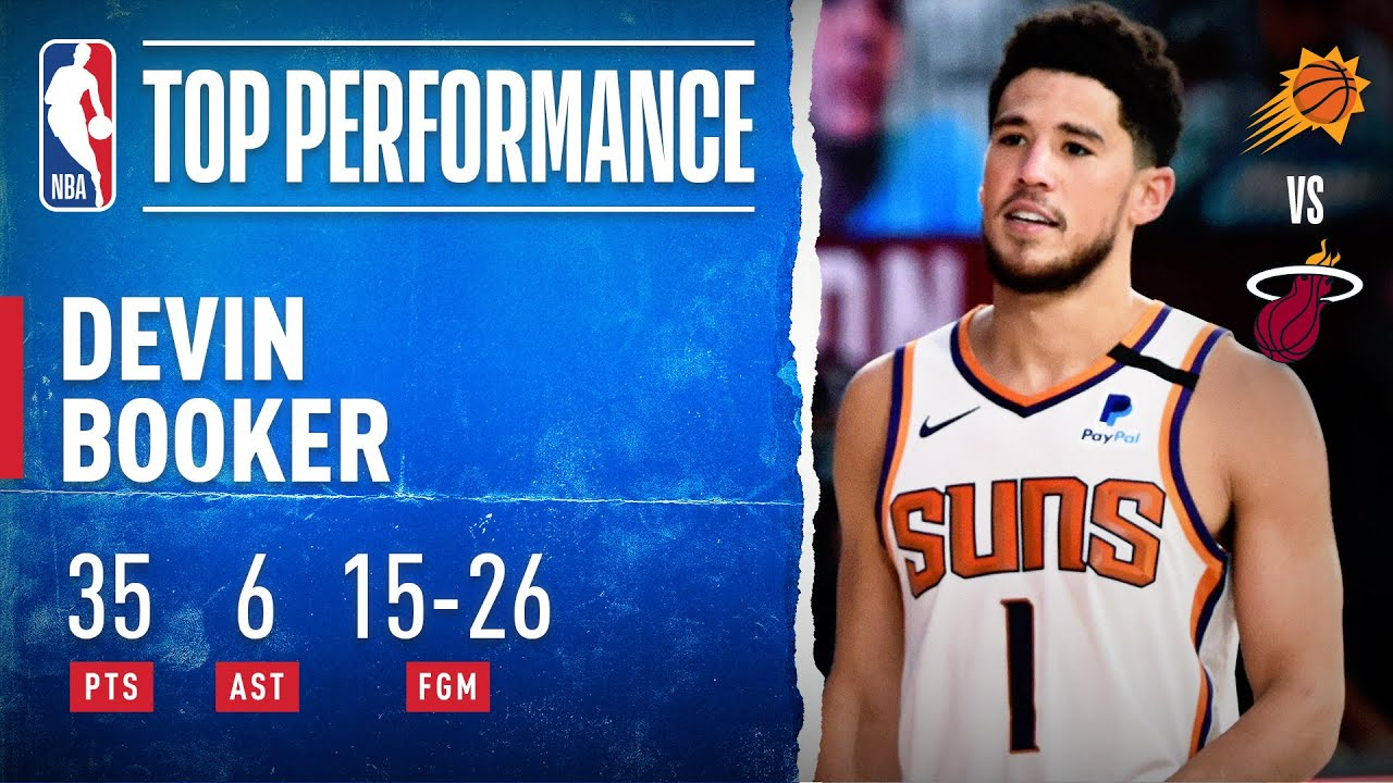 Devin Booker's 35 PTS Guide Suns To Stay Undefeated In Orlando!