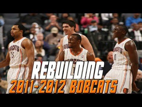 NBA 2K16 MyLeague | Rebuilding The 2011-2012 Charlotte Bobcats | Worst Team Ever