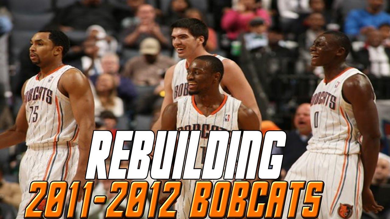 Nba 2k16 Myleague Rebuilding The 2011 2012 Charlotte Bobcats