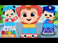 Policeman and Firefighter to the Rescue | The Job Song | Little Angel Kids Songs