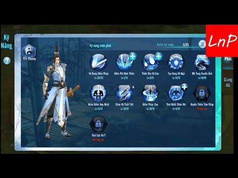 """[LnP] Cách Tăng Kỹ Năng Võ Đang Trong Game - """"Võ Lâm Truyền Kỳ Mobile"""""""