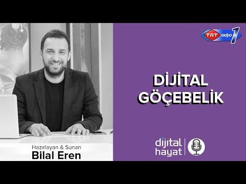 23.02.2018 | Dijital Hayat Bölüm160 - TRT RADYO1 I Dijital Göçebelik