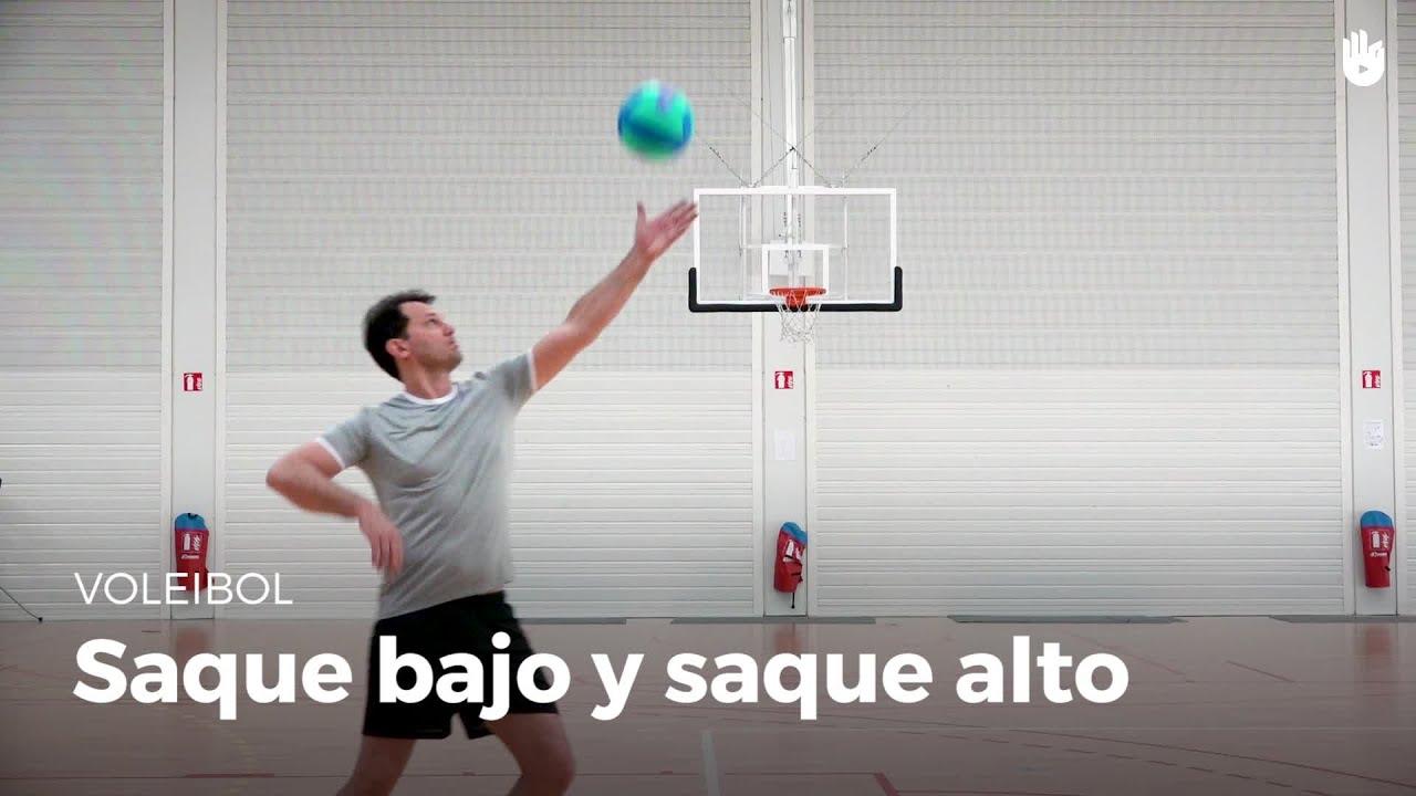 saque de tenis en el voleibol tecnica