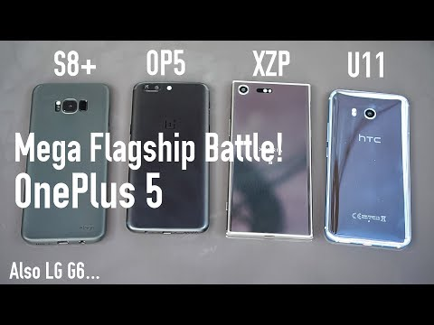 OnePlus 5 Review & Mega Flagship Battle(2017)! Camera, Speed Test, Battery Life Comparison