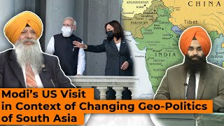 SOS 9/24/2021 P.1 Dr.Amarjit Singh:Modi's US Visit in Context of Changing Geo-Politics of South Asia