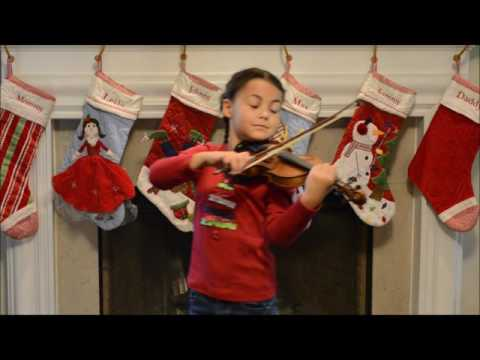 Christmas Time is Here from A Charlie Brown Christmas played on violin