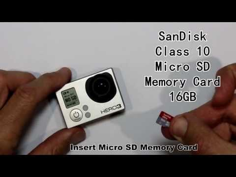 How long can I record for with a 16GB MicroSD card? GoPro HERO3 Black Edition (Protune ON)