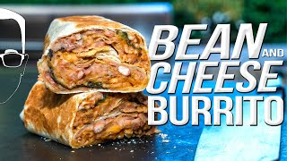 THE ULTIMATE BEAN & CHEESE BURRITO RECIPE | SAM THE COOKING GUY 4K