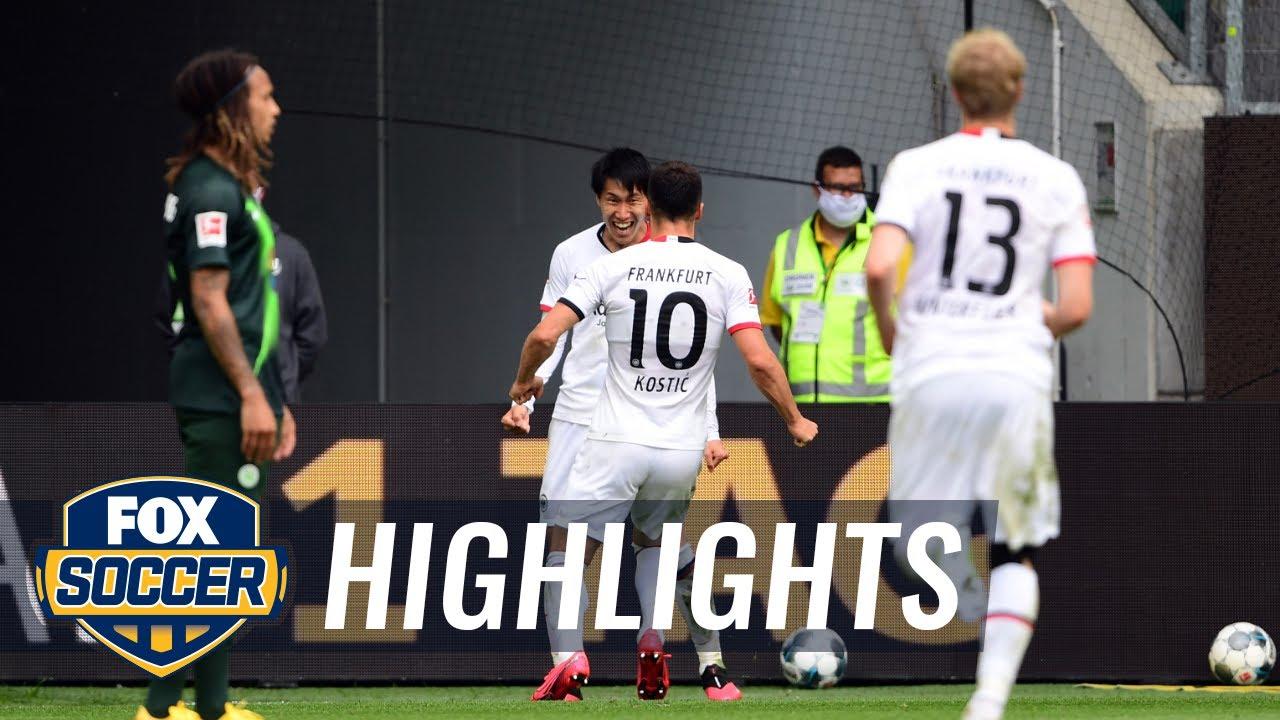 Wolfsburg 1 - 2 Eintracht Frankfurt