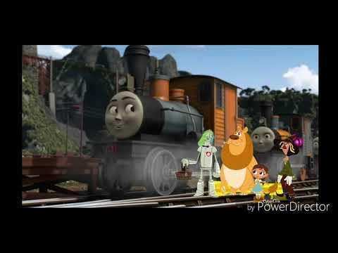 Dorothy Gale & Friends Meeting Bash, Dash & Ferdinand The Logging Locos
