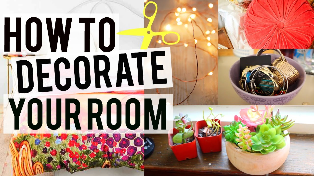 easy cheap and cute ideas to decorate your room - Decorate Your Room
