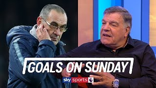 Sam Allardyce backs Maurizio Sarri for slamming his Chelsea players | Goals on Sunday