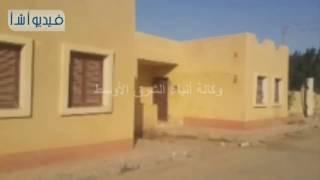 بالفيديو : محافظ المنيا يتفقد قرية البهنسا الجديدة بمركز بني مزار