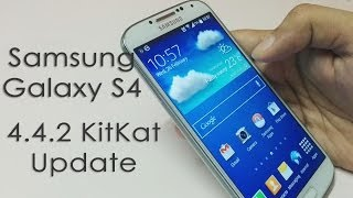 Samsung Galaxy S4 Android 4 4 2 KitKat Update