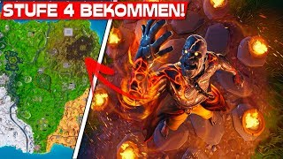 HOW TO GET STUFE 4 of the GEFANGENER SKINS? | Fortnite Snowfall Skin Level 4