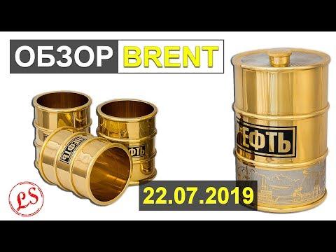 22 июля 2019. Хроники торгов на М5 по нефти BR