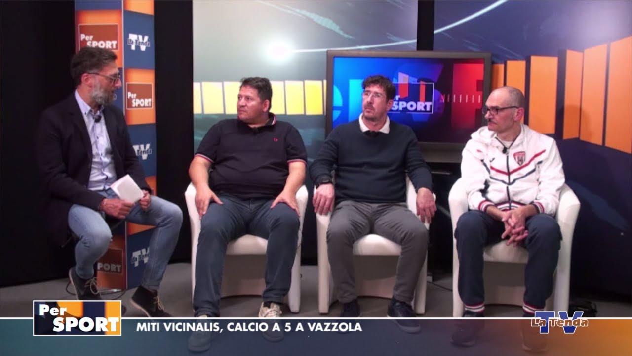 Per Sport - Miti Vicinalis, calcio a 5 a Vazzola
