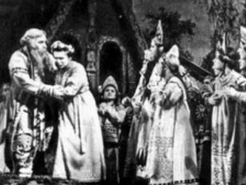 VISHNEVSKAYA and KOZLOVSKY- DUET-The Snow Maiden Act II