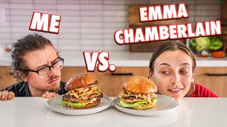 Cooking Challenge Against Emma Chamberlain