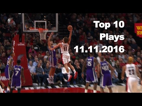 Top 10 NBA Plays: November 11th