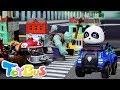 Bad Zombies Attacks Baby Panda   Super Rescue Team   Poli Police Car   Plants VS Zombies   ToyBus