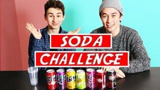 SODA CHALLENGE!! / УГАДАЙ ГАЗИРОВКУ С БРАЙН МАПС !