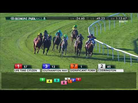Significant Form - 2017 Miss Grillo Stakes - YouTube
